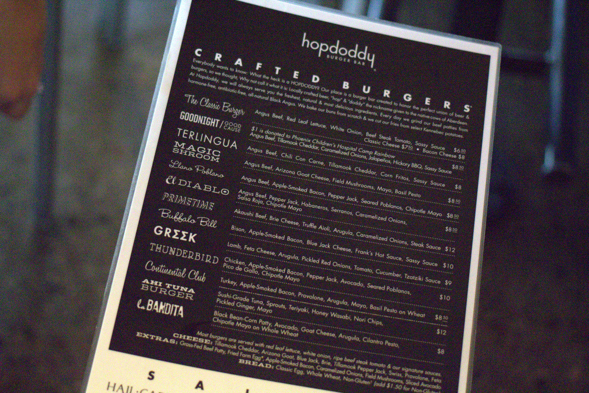 hopdoddy scottsdale menu