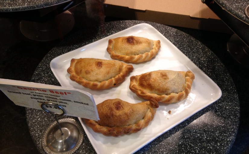 Empanadas from Sydney's at Tempe Marketplace