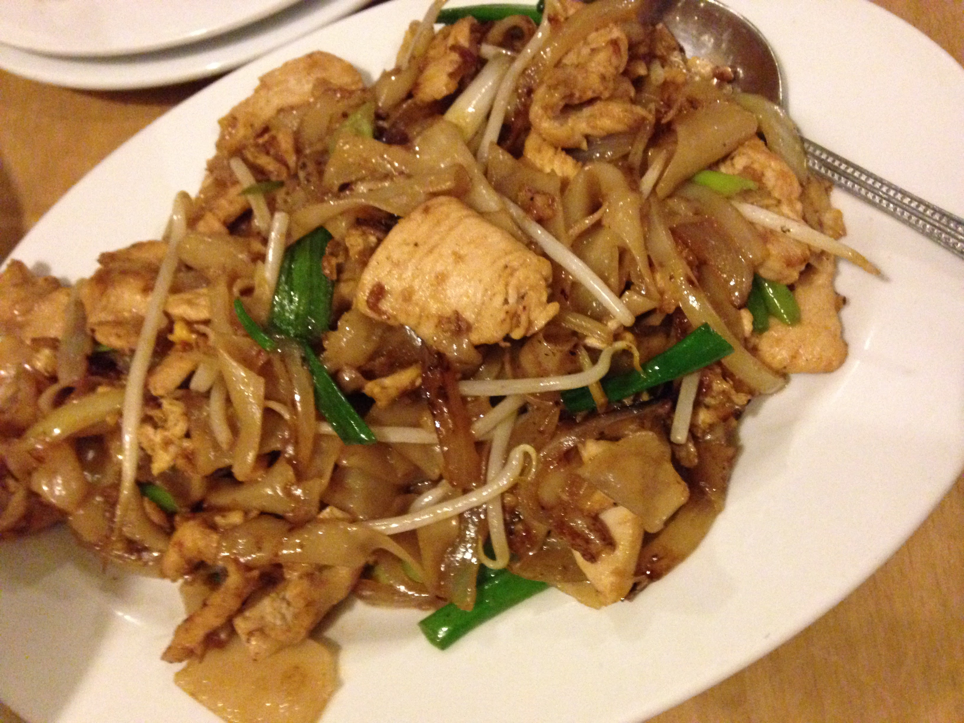 Pan Fried Noodles with Chicken
